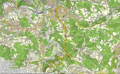 Zuweg Westerwaldsteig