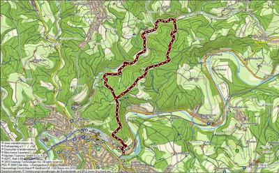 Alter Fürstenweg - Botanischer Weg - Tour 1