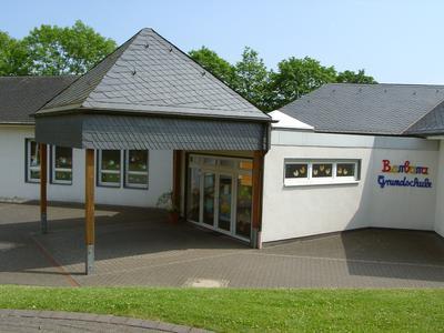 Eingangsbereich der Barbara-Grundschule in Katzwinkel