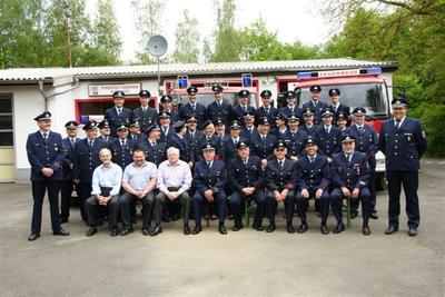 Mitglieder der Freiwilligen Feuerwehr Wissen - Löschzug 3