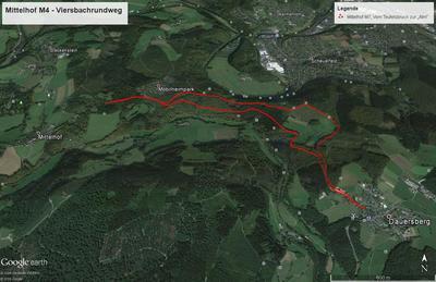 Mittelhof M7 - Vom Teufelsbruch zur »Alm«