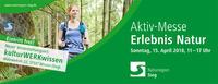 Aktiv-Messe Erlebnis Natur am 15.04.2018