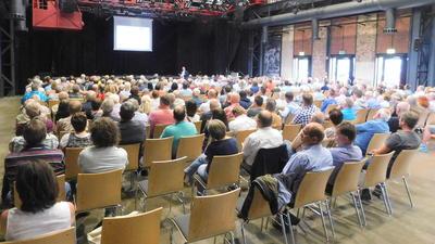 Einwohnerversammlung im Kulturwerk
