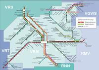 VRM Schienennetzplan 2018