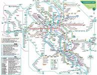 VRS Schienennetzplan