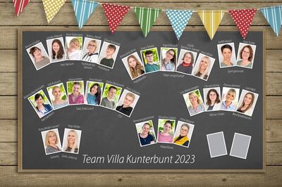 Das Team Villa Kunterbunt