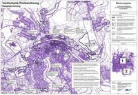Bebauungsplan Erhaltung und Entwicklung der zentralen Versorgungsbereiche - Planzeichnung