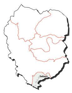 Kartenumriss der Ortsgemeinde Selbach (Sieg)