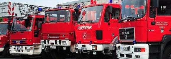 Fahrzeuge der Freiwilligen Feuerwehr Wissen