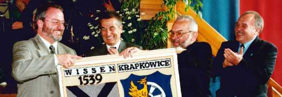 Feierlichkeit zur Städtepartnerschaft Wissen - Krapkowice